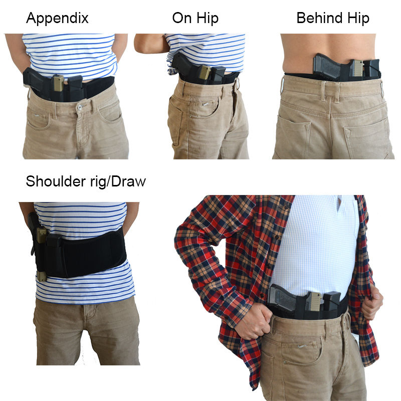 concealed carry ultimate belly band holster first time in india