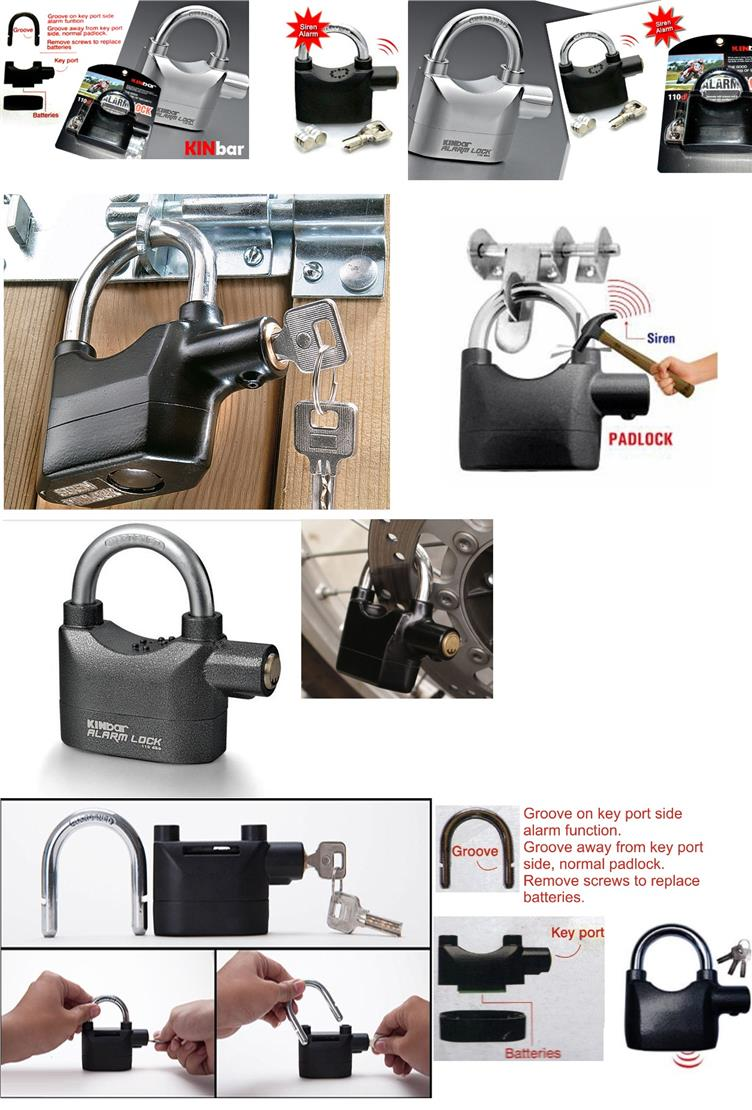 Anti Theft Motion Sensor Alarm Lock