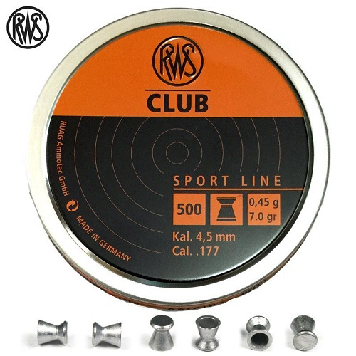 chumbo-rws-club-450mm-177-500pcs