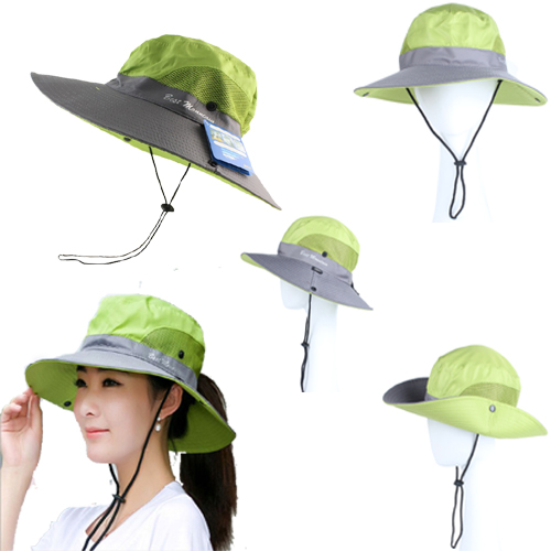 1b9bc539b599b ... Special Boonie Hat Waterproof Sun UV Protection Unisex Long Large Wide  Brim Bob Hat Green. Untitled-1 chhfhpy