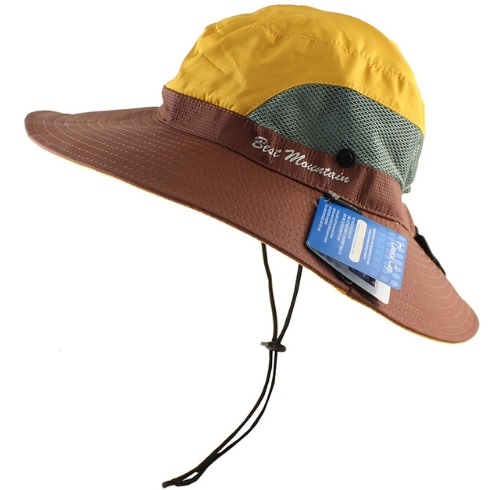 38b1e5fe12816 ... Special Boonie Hat Waterproof Sun UV Protection Unisex Long Large Wide  Brim Bob Hat Yello. Untitled