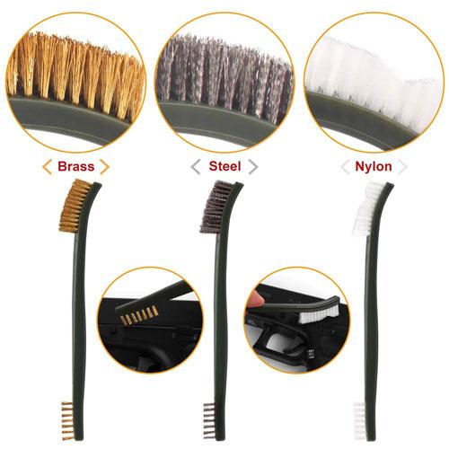 9X Cleaning Set Gun Brush Waffenreinigungsset Für Rifle Pistol Handgun Shotgu DE
